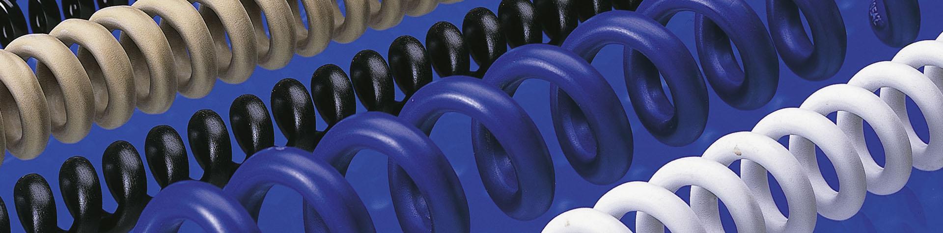 Spiralkabel in diversen Farben